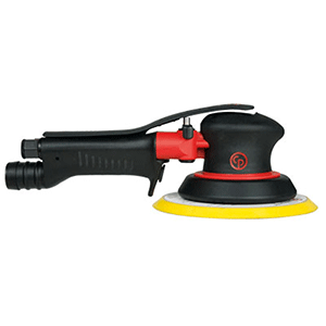 "Chicago Pneumatic CP7215HCVE - 6"" 2-Handed Air Random Orbital Palm Sander"