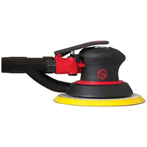 "Chicago Pneumatic CP7215SVE - 6"" 2-Handed Air Random Orbital Palm Sander"