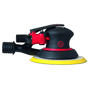 "Chicago Pneumatic CP7255 - 6"" Air Random Orbital Palm Sander"