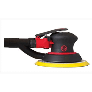 "Chicago Pneumatic CP7225SVE - 6"" Air Random Orbital Palm Sander"