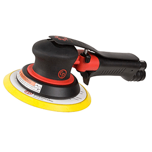 "Chicago Pneumatic CP7255HCVE - 6"" 2-Handed Air Random Orbital Palm Sander"