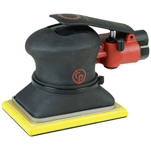 "Chicago Pneumatic CP7263E - 3""x4-1/4"" (74x109) Air Jitterbug Sander Compact pad great for sanding on small surfaces"