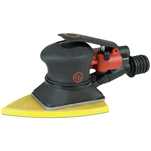 "Chicago Pneumatic CP7267CVE - 3-7/8""-5-5/8"" (100x144) Air Jitterbug Delta Sander Great for corners with the Delta Pad"