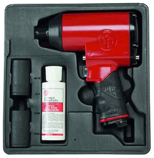 "Chicago Pneumatic CP749KM - 1/2"" Air Impact Wrench Metric Kit"