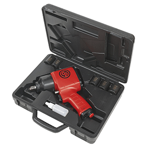 "Chicago Pneumatic CP7620KM - 1/2"" Compact Air Impact Wrench Metric Kit"