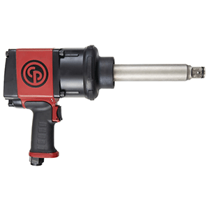 "Chicago Pneumatic CP7776-6 - 1"" High Torque Air Impact Wrench with 6"" Anvil"