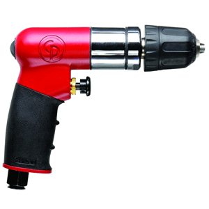 "Chicago Pneumatic CP7300RQC - 1/4"" Pistol Air Drill - Keyless and Reversible"