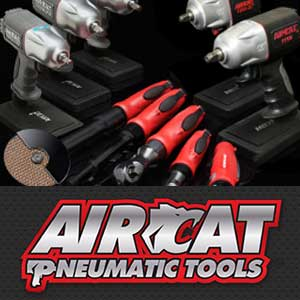 Aircat Pneumatic Tools from Mettex Air Tools Staffordshire