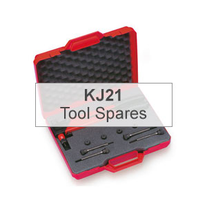 Mettex Air Tools KJ21 Riveting Tools for Threaded Inserts Spares