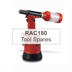 Mettex Air Tools FAR RAC180 Tools for Blind Rivets Spares