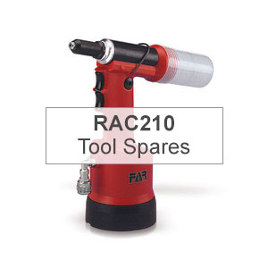 Mettex Air Tools FAR RAC210 Tools for Blind Rivets Spares
