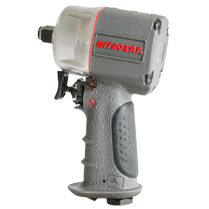 1076-XL AIRCAT 3/8' Composite Impact Wrench Mettex Air Tools Staffordshire