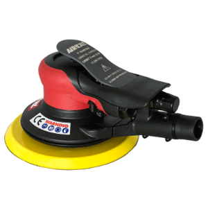 AIRCAT 6700-6-336CV Orbital Palm Sander-Central Vacuum Mettex Air Tools Staffordshire UK