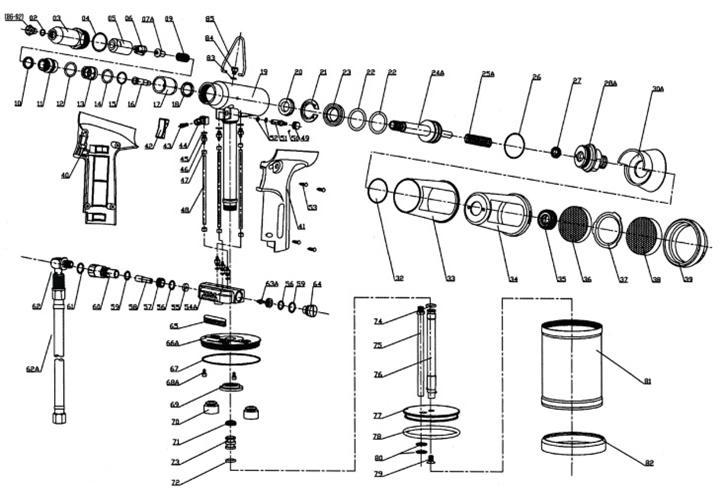RIVIT RIV506 Technical Drawing